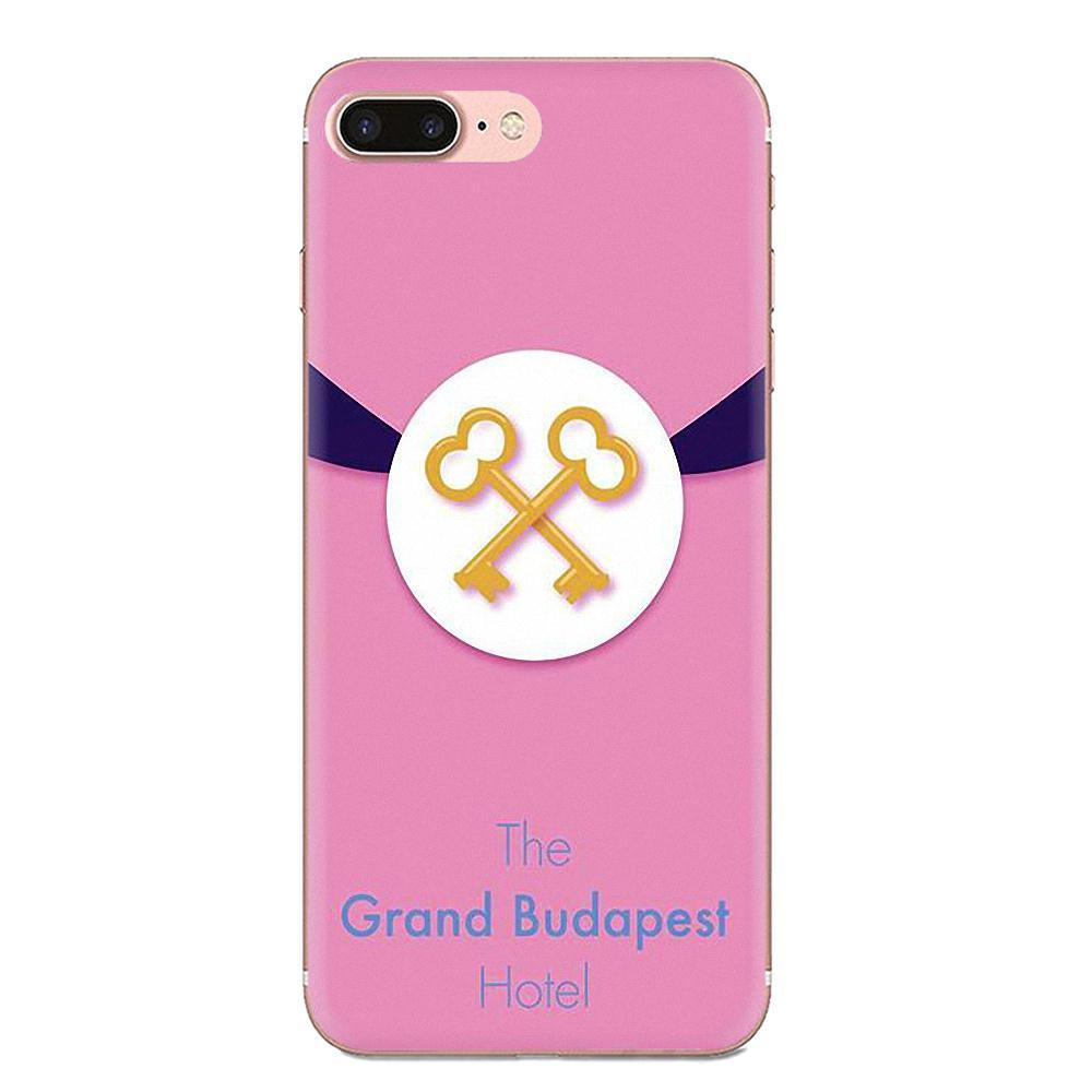 Custom For Xiaomi Redmi Mi 4 7A 9T K20 CC9 CC9e Note 7 8 9 Y3 SE Pro Prime Go Play Soft Phone Skin Wes Grand Budapest Hotel Drawing HmEpu
