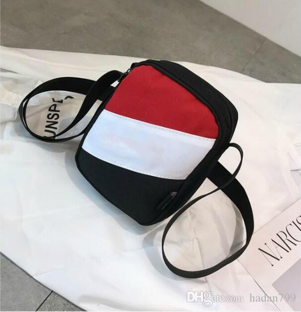 Famoso diseñador de la marca MINI Cross Body Bags Champ bordado Luxury Messenger Bag Mens MUJERES Hombro Cross-Body Bag con cremallera 3 colores