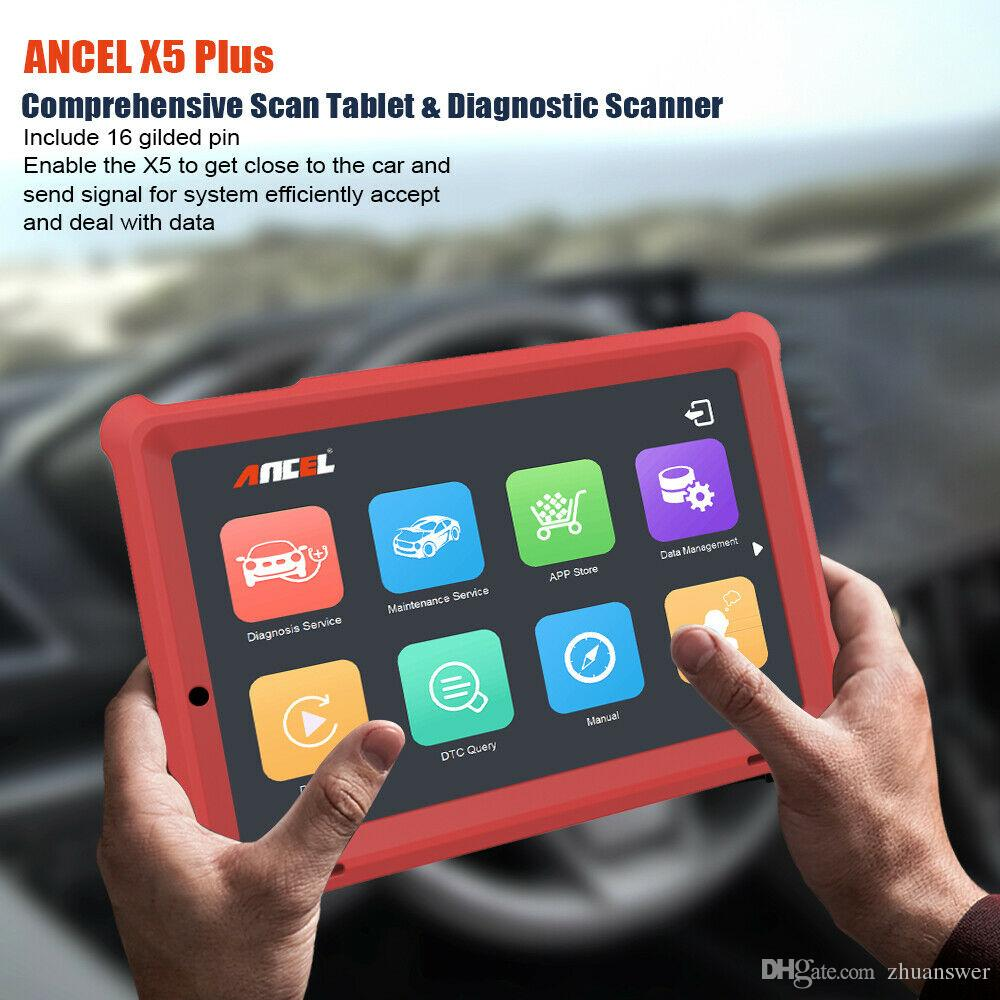2019 Ancel X5 Plus WiFi OBD2 Scanner Diagnostic Full System Tool +10 1''  Win10 Tablet From Zhuanswer, $113 07   DHgate Com