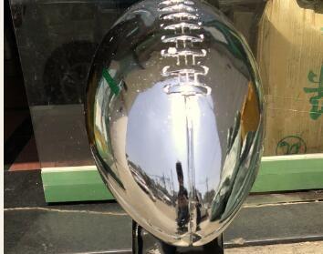 1: 1 Tam Boy 52 CM Vince Lombardi Trophy Süper Trophy 22 Inç Yüksek Ağırlık 7 £ Rugby kupa