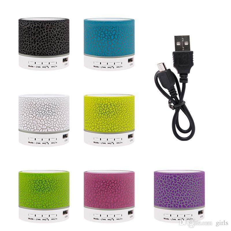 2020 سماعات بلوتوث ستيريو A9 مكبرات صوت مصغرة بلوتوث المحمولة السن الزرقاء مضخم الصوت مضخم صوت الموسيقى USB لاعب كمبيوتر محمول المتكلم