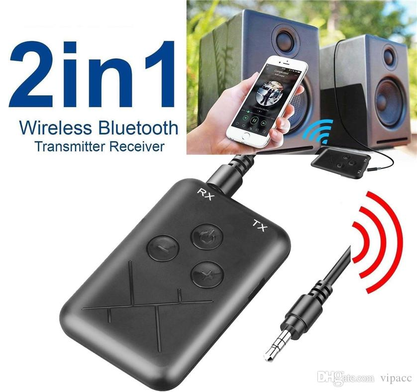 Wireless BT V4.2 3.5mm AUX Audio Stereo Music Home Car Receiver Adapter