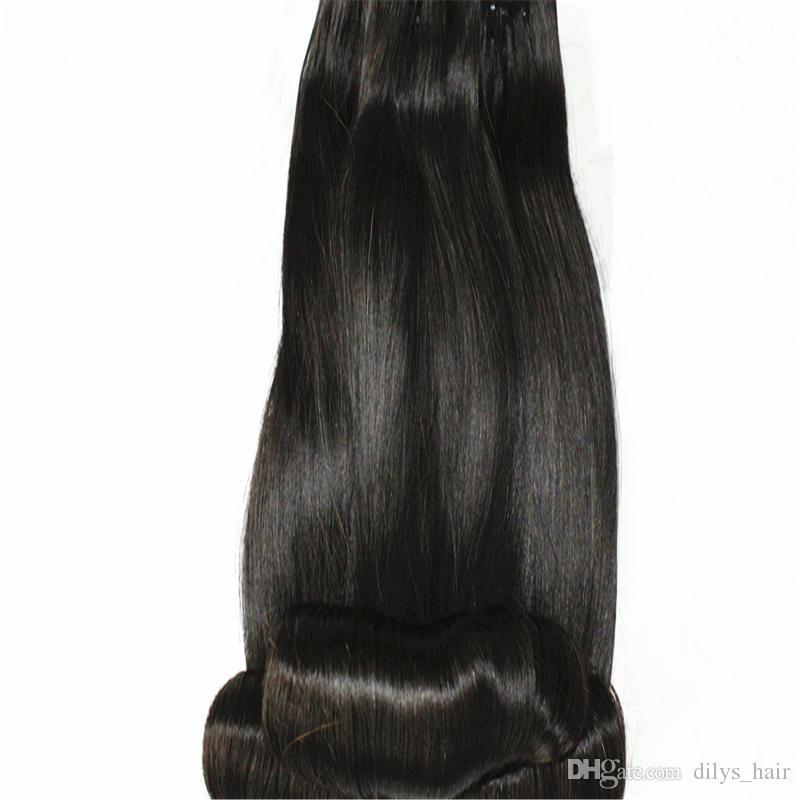 Huevo Curly Funmi Extensiones de cabello 3 paquetes 12a de primera calidad India brasileña Malasia 100% Virgen Human Haaves Tejidos Negro Puro 8-18 pulgadas