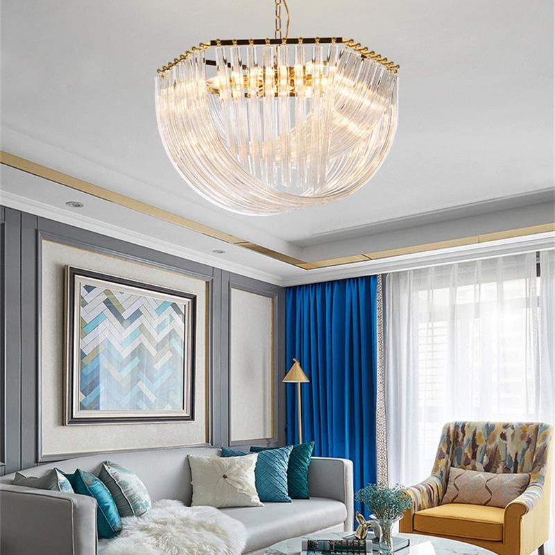 Crestech Living Room Chandelier Moderno Restaurante Creativo Personalidad Atmósfera Luz de dormitorio Lámpara Lámpara Colgante Estilo Nórdico