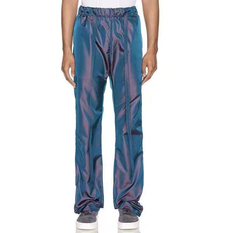 19FW colorati Nylon Pantaloni Pantaloni sportivi delle donne degli uomini di sport Fitness Moda Pantaloni Pantaloni con coulisse mutanda casuale Via Hip Hop HFYMKZ186