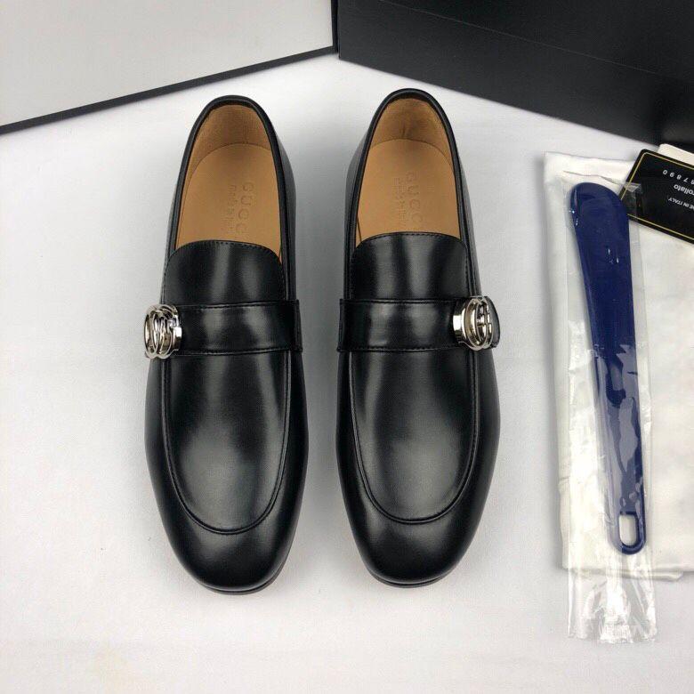 Top qualité parfait en cuir de vachette chaussures habillées pour les hommes de bureau carrière Sneakers chaussures de mariage hommes parti pour homme taille 38-46 avec la boîte