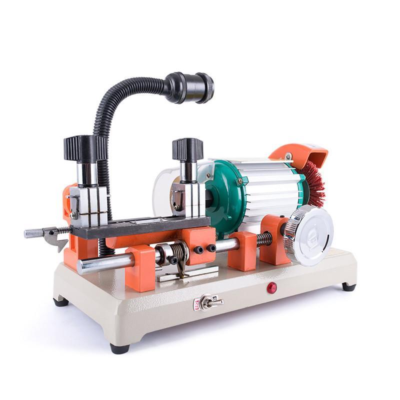 DEFU 2AS Car and house key cutting machine horizontal key cutter 220V/110V key duplicating machine locksmith tools