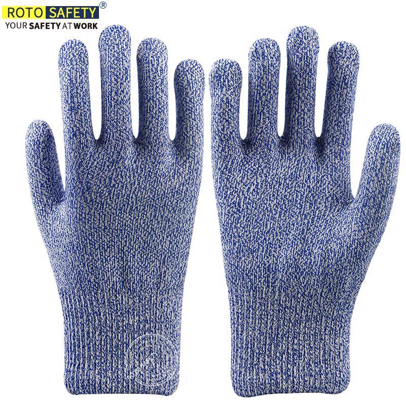 Порезостойкие перчатки - высокий уровень производительности 5 защитные перчатки ПЭВД водонепроницаемые перчатки