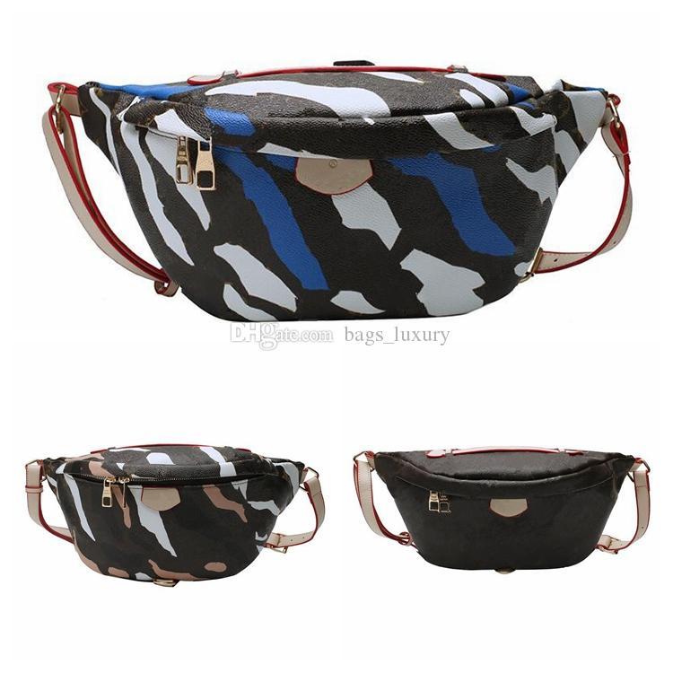 Mode camouflage sacs sacs à sacs à sacs à main multi-usines Pack extérieures sac de poitrine Fanny Cross Corps Femmes Loisirs Ceinture Hommes Sacs Portefeuille KFSA