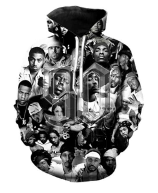 2020 New Fashion Men hoodies 2pac Tupac 3D Print Hoodie Unisex Casual streetwear hoody Sweatshirt Free Shipping AA0211
