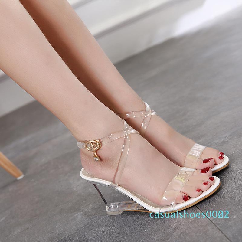 Toka Basit Kama Sandalet LFD C22 ile LTARTA 2020 Seksi Kama Sandalet Kadın Yaz Kore Tarzı Yaz Ayakkabı