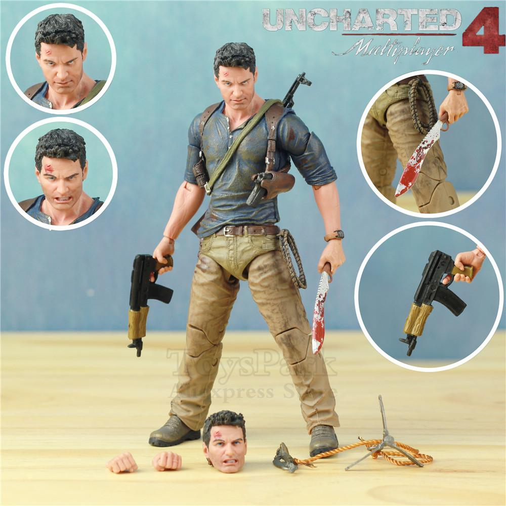 UNCHARTED 4 Ultimate Nathan Drake Action Figure Neca