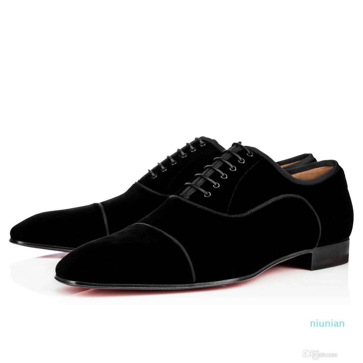 La venta caliente zapatos inferiores rojos Greggo Orlato plano de cuero genuino zapatos Oxford para mujer para hombre que camina fiesta de la boda holgazanes de los planos 35-46