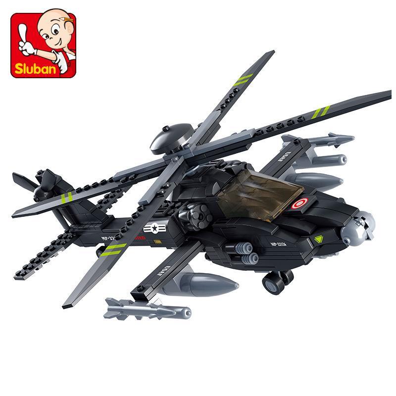 L'elicottero Compatibile Legoingly velivoli bombardiere US Army Military Police SWAT Gunship costruzione di modello Blocks Giocattoli
