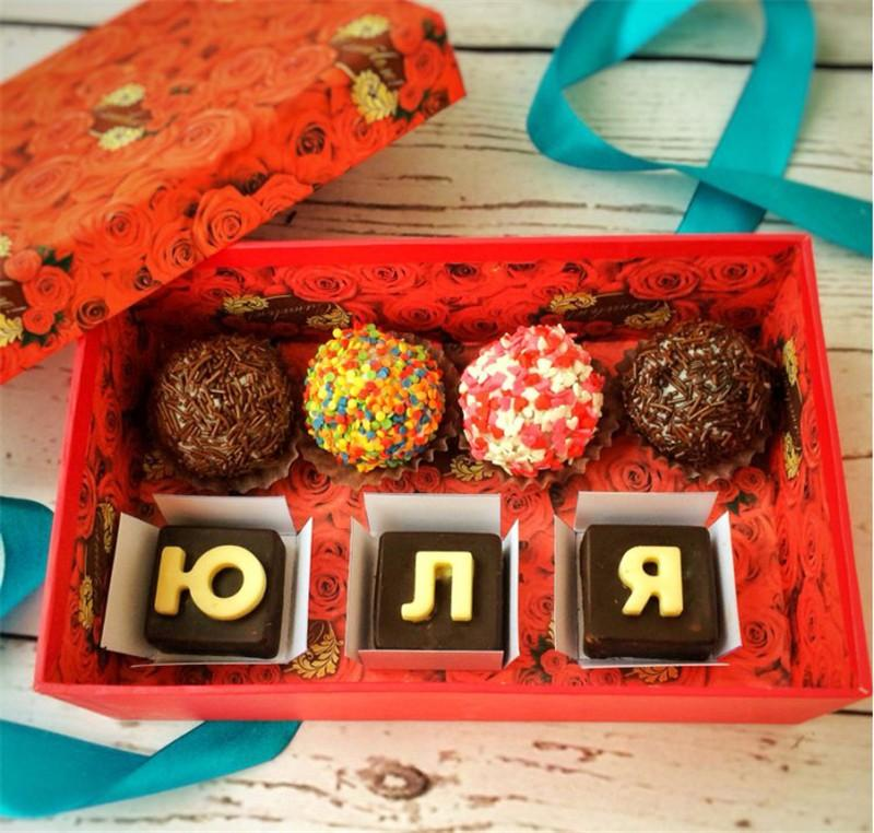 Silicone Chocolate Mold as Jelly Candy Pudding Mould with Alphabet Letters of Russian01