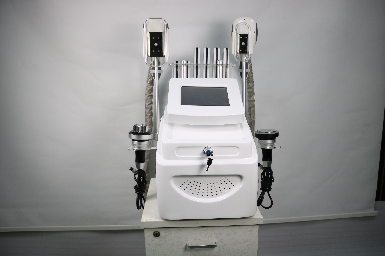 Новые мощные 5 в 1 CryoliPolaser Freeze Вес Уменьшить 40k Кавитационное Вакуум RF Тело для похудения Криолипольс Криотерапия Салон красоты Машина