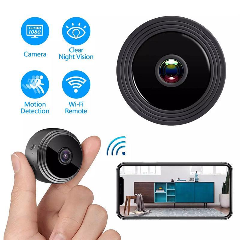 YOUYE A9 Full HD 1080 P Mini WiFi Cam/éra Infrarouge Vision Nocturne Micro Cam/éra sans Fil IP P2P Mini Cam/éra D/étection de Mouvement DV DVR Cam/éra