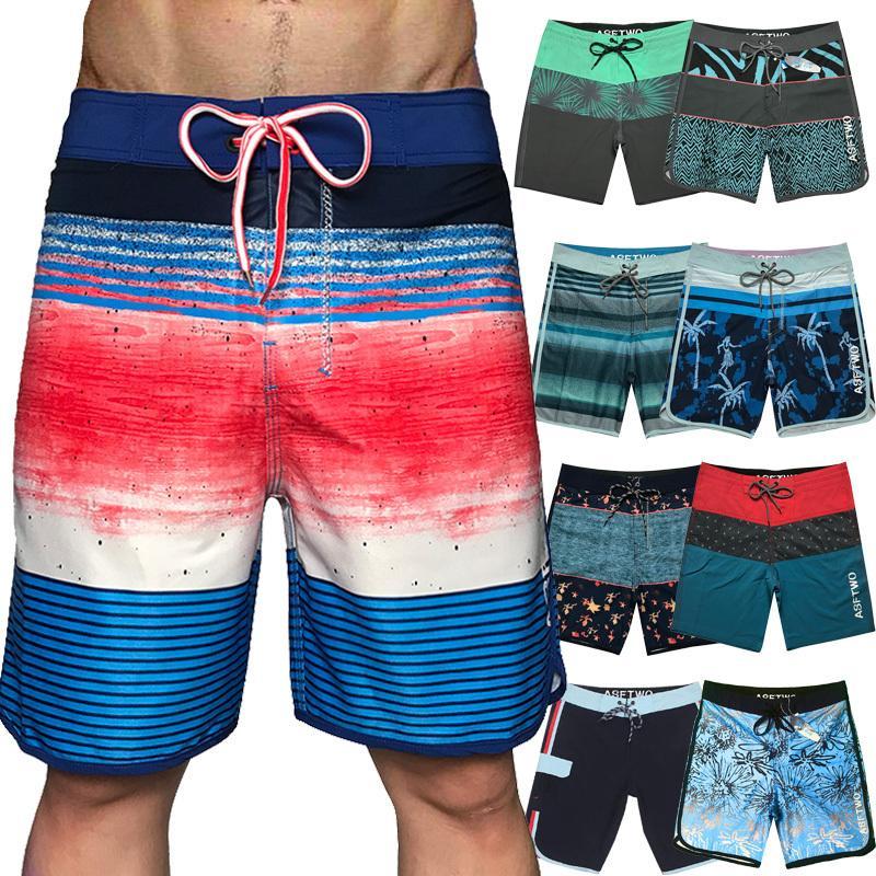 Hommes Shorts Plage Conseil Bermudas Shorts Plage Conseil Pantalons Natation Hommes Court Pantalons Casual Male Plage Sweatpants T200612