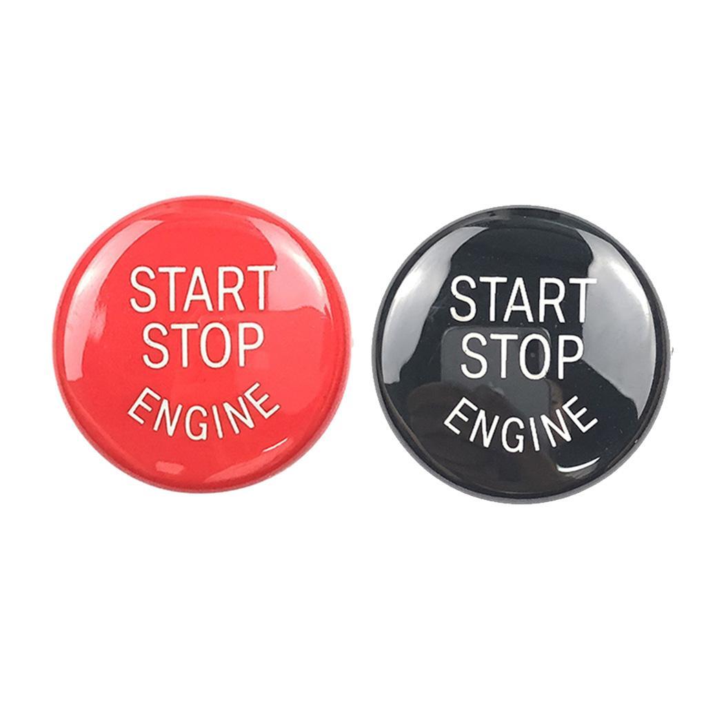 2adet 25mm Araba Motoru Başlatma Durdurma Düğmesi Kapak Trim Dekor için BMW E Şasi
