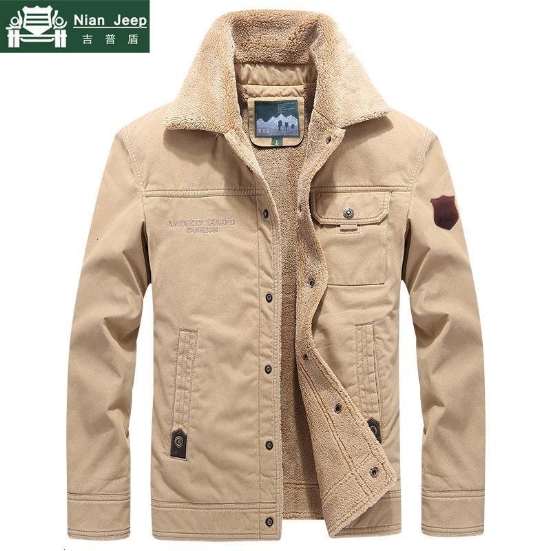 2019 Winter Outwear Jacket Men Thicken Wool Liner Warm Coat Male Windbreaker Military Men Jacket chaqueta hombre Plus Size M-6XL T191026