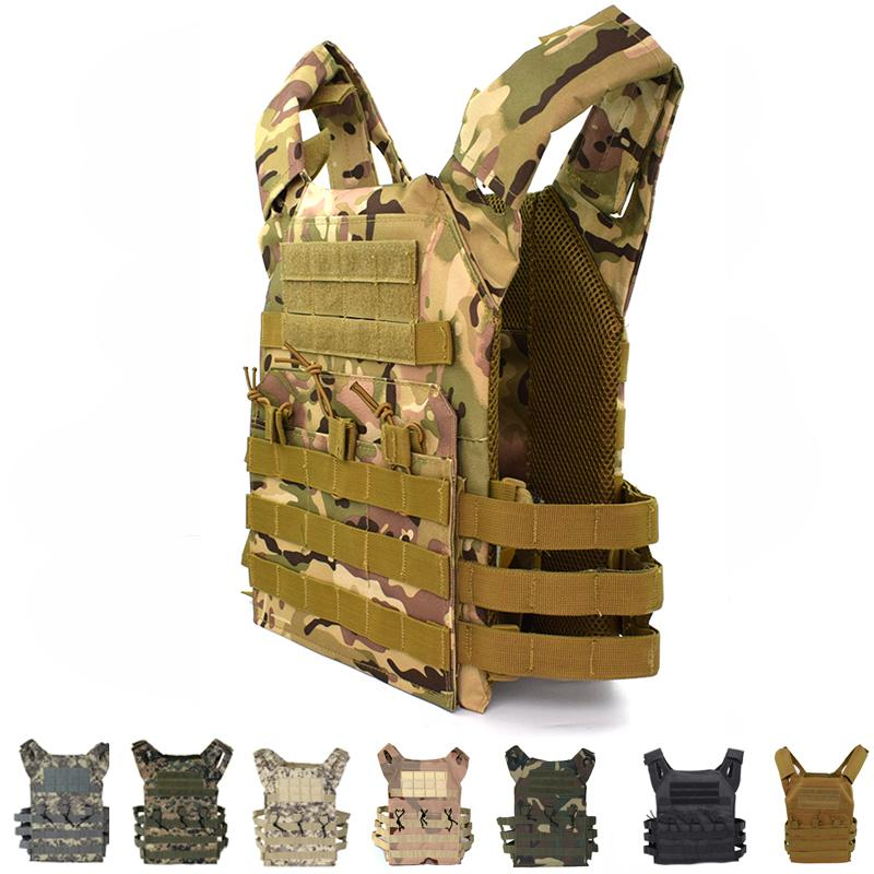Tactical Equipment JPC Molle Vest Paintball Hunting Vest Plate Carrier Gear Body Armor