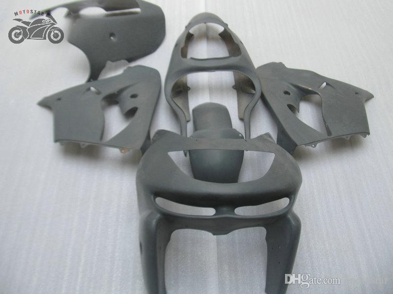Unpainted motorcycle fairing set for KAWASAKI 1998 1999 Ninja ZX9R road race ABS plastic body fairings kit 98 99 ZX-9R ZX 9R