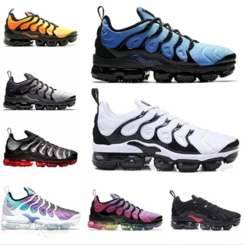 Novos 2019 marca Men mulheres Sneakers TN Além disso respirável Air Cusion Desinger corredor tn calçados casuais New Chegada EUR36-451564129660343c31d #