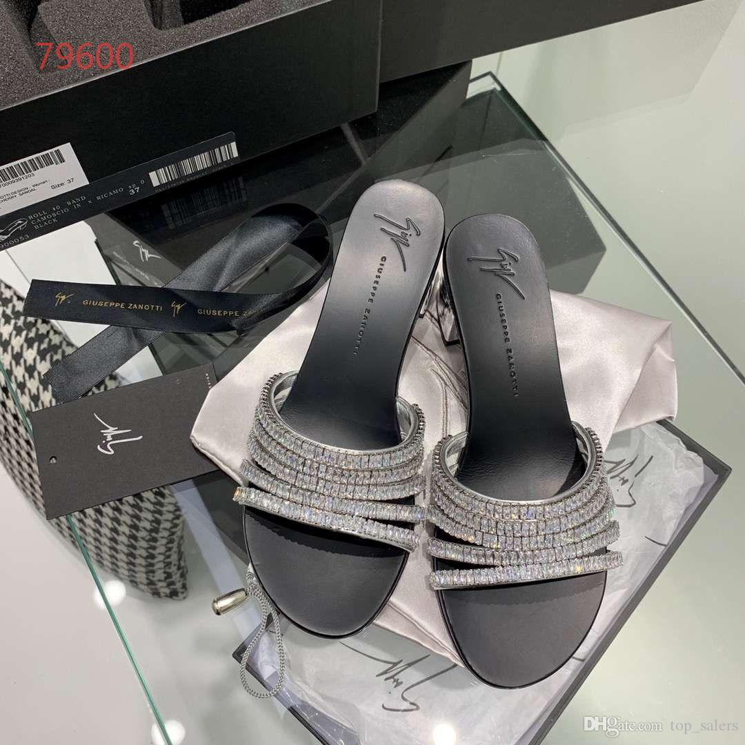 Top quality low cutter slippers casual shoes sandal shoes women size 35 -39 silver and black