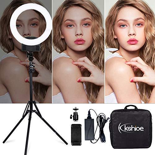 """LED Ring Lights 12"""" Camera Photo Studio Phone Video 36W 240PCS LED Ring Light 5500K Photography Dimmable Makeup Ring Lamp With 2M Tripod"""