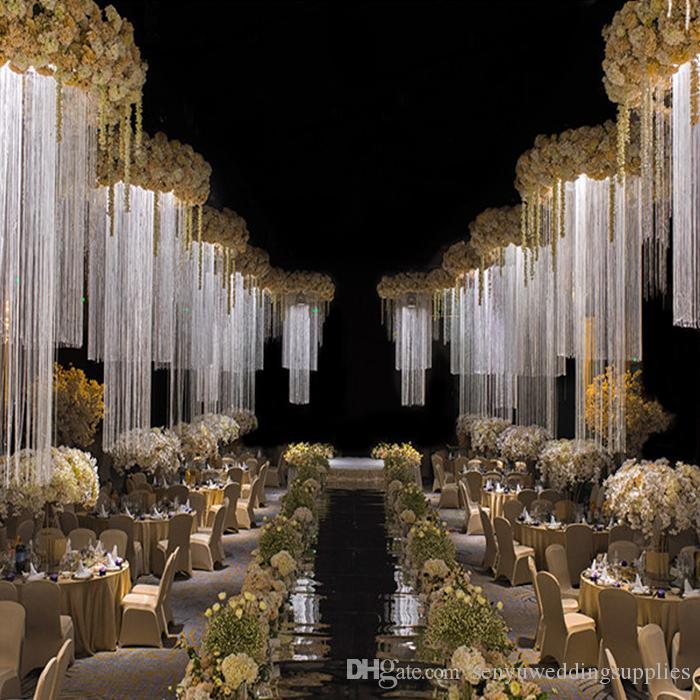 New style Column Stand Up Metal Frame Flower Stand For Wedding stage hangging wedding hall flower backdrop wedding stage decoration senyu010