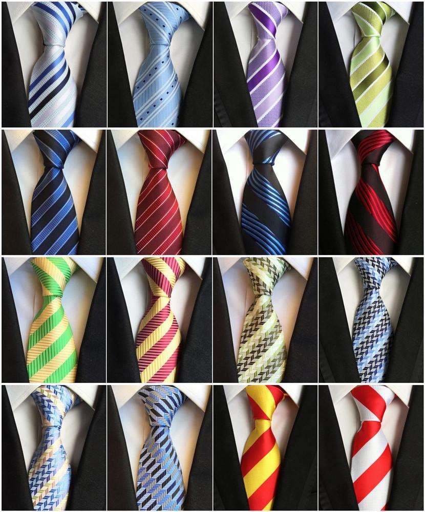 Classic Paisleys Brown Baby Blue 100/% Silk Men/'s Necktie Neck Tie 3.15/'/' 8CM
