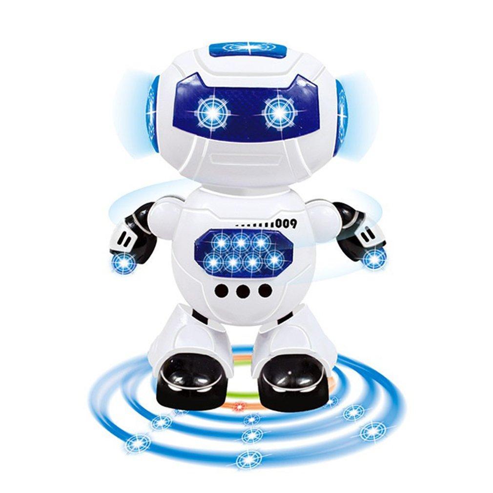 Brinquedos para Crianças Dança e de Música Robot Crianças Ação Electric Brinquedos Hyun dança do robô Rotating Luz Música