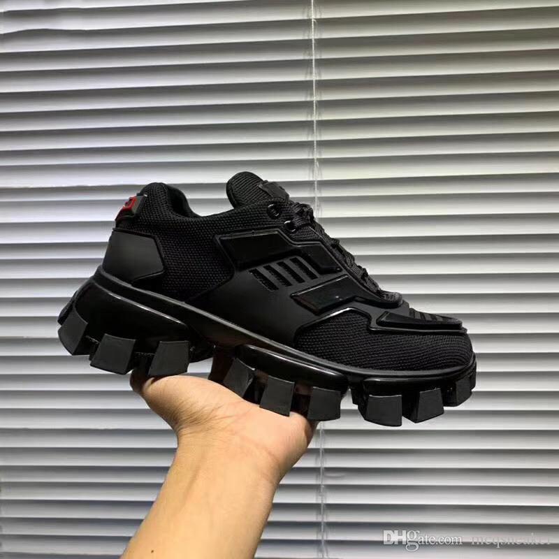 مصمم أزياء أحذية جديدة Cloudbust الرعد المنخفضة للأعلى في الهواء الطلق شبكة الاحذية سوليد المطاط الأزياء الرجالية والنسائية size35-46
