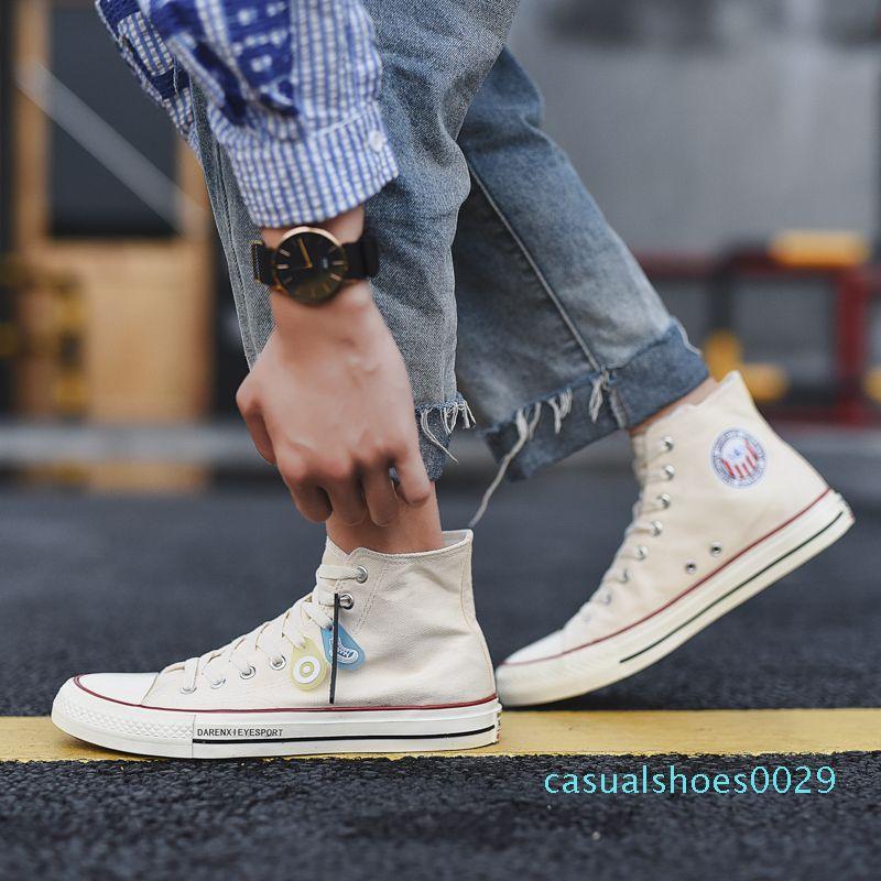 Мода осень холст обувь ботильоны скейт кроссовки Krean Ulzzang ретро Плимсолы мода Harajuku Повседневная обувь мужчины скейт обувь c29