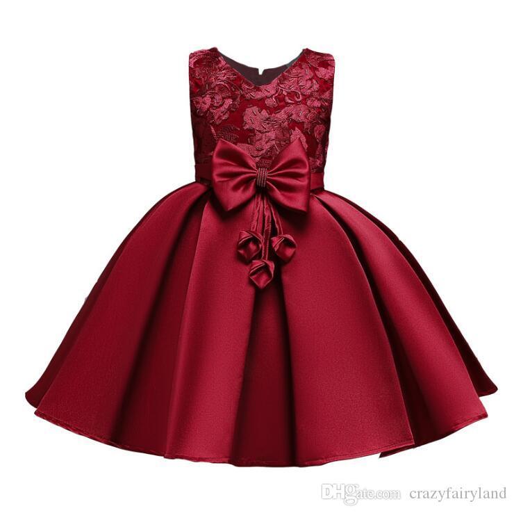 Prenses Çiçek Kız Elbise Yaz Tutu Düğün Doğum Günü Partisi Çocuk Elbise Kız Çocuk Kostüm Genç Balo Tasarımlar İçin