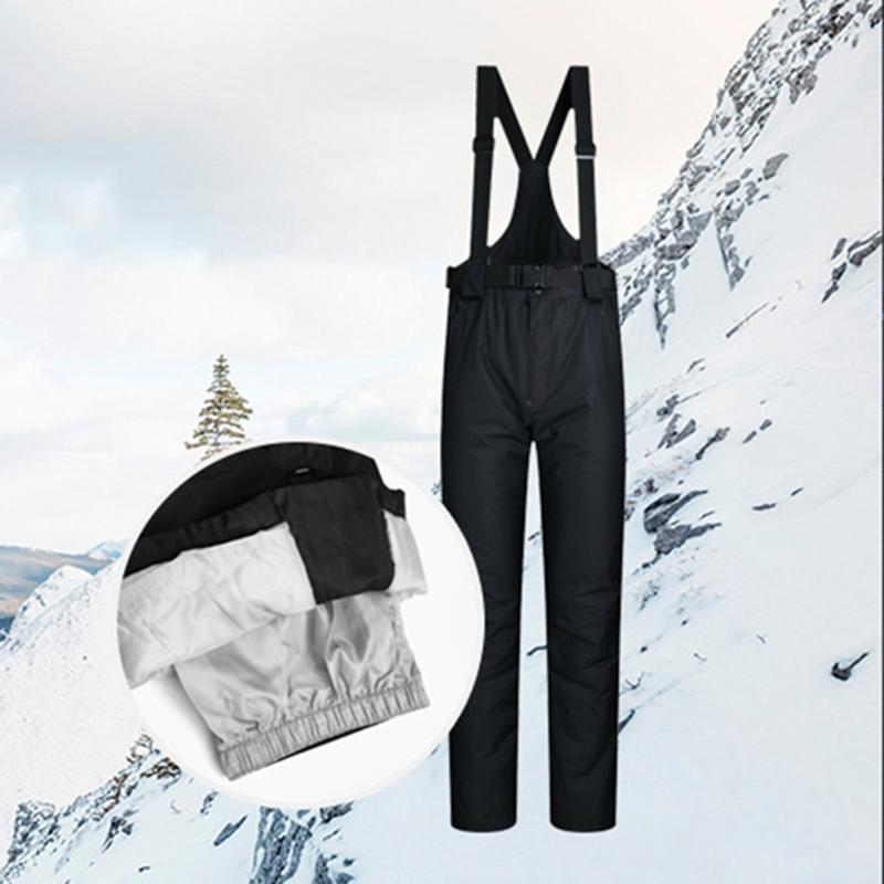 MUTUSNOW Лыжные штаны Мужчины Женщины Открытый ветрозащитный водонепроницаемый теплый снег Брюки Горные лыжи Сноуборд штаны