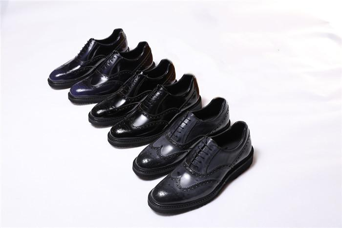 Keskin erkek deri ayakkabı İngiliz moda erkek deri ayakkabı kişilik kuaför deri ayakkabı gençlik busine Güney Kore
