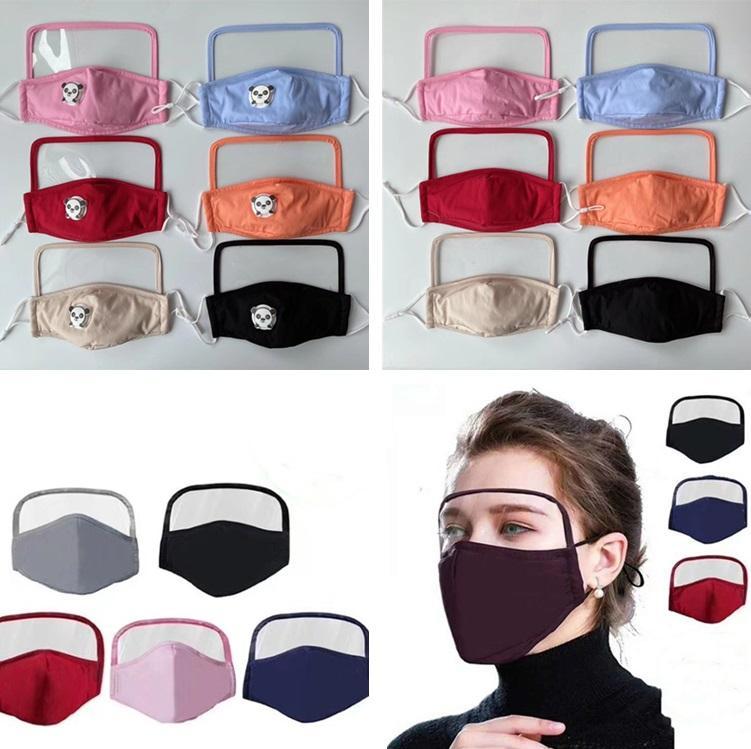 이 밸브는 보호 입 커버 안면 마스크를 야외 디자이너 마스크 6084 호흡 아이들과 성인을위한 earloop 방진 1 개 눈 마스크