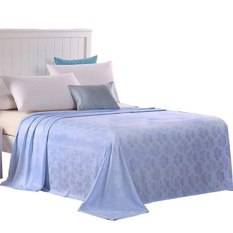 Fibra de bambu cobertor para o bebê Crianças Adulto Verão Cobertores fresco Jogue para sofá-cama confortável ar condicionado Quilt