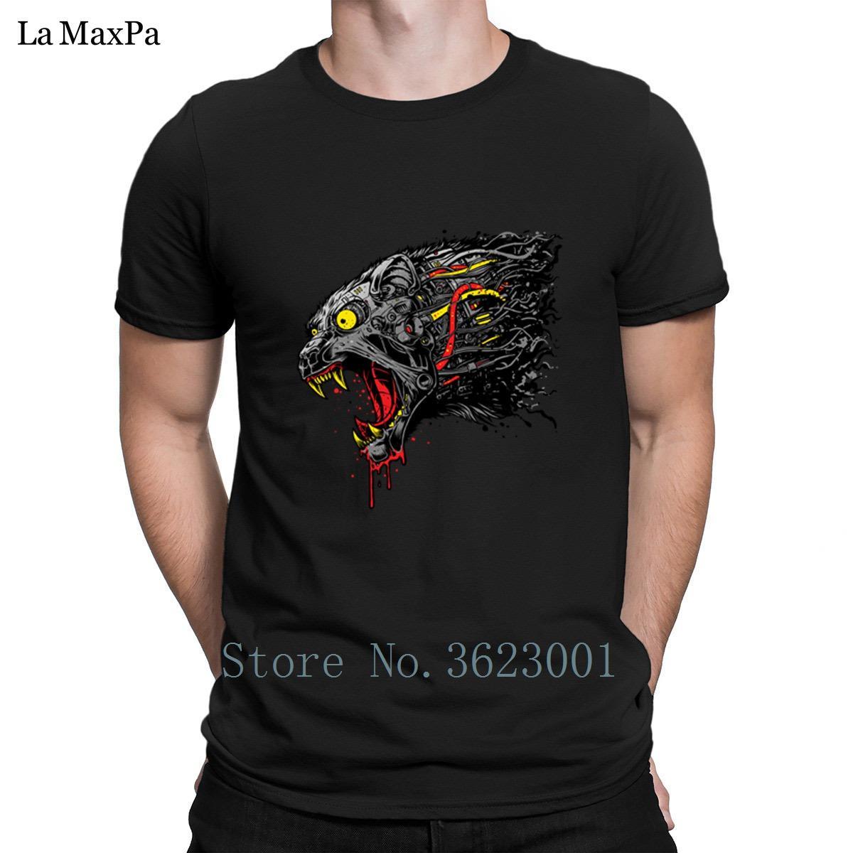 Печатные буквы футболка для мужчин кибер Пантера футболка мужская одежда футболка модная мужская футболка хлопок подарок