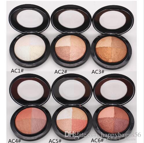 Yeni Marka mineralleştirilmesi Skinfinish Toz 4 renk İşaretleyiciler Pudra Makyaj Kozmetik Ücretsiz Kargo