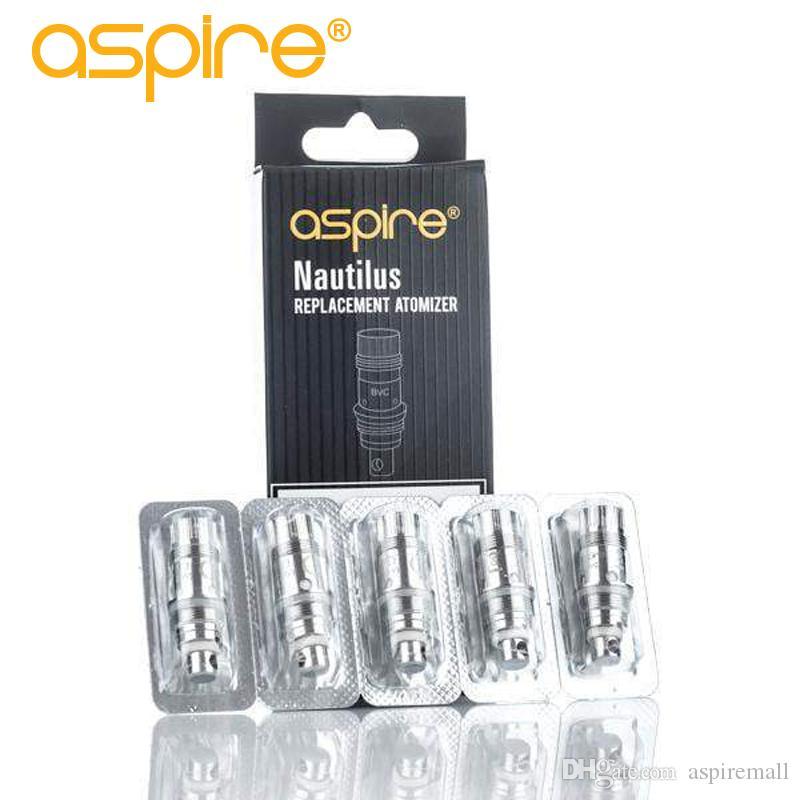 Autentica all'ingrosso Aspire bobina nautilus per Aspire Nautilus / mini carro sostituzione BVC nautilus bobina DHL