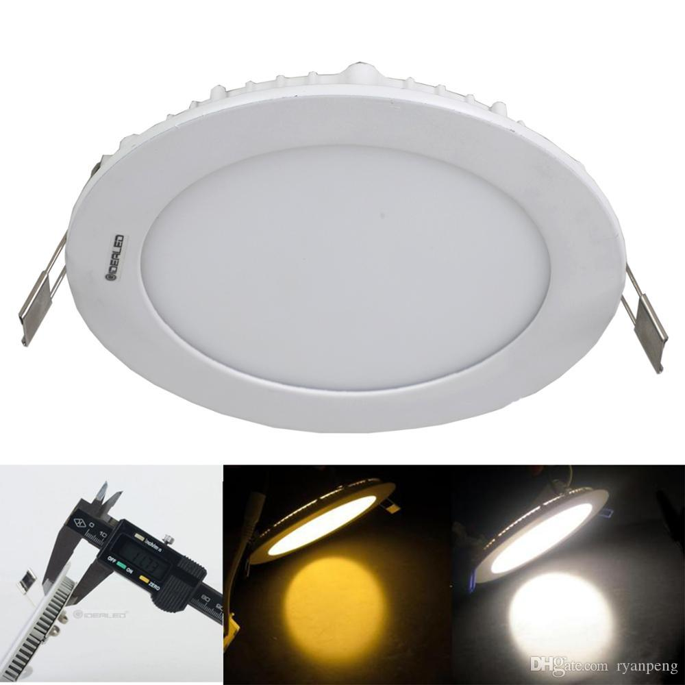 12V Bus lamp LED Panel light Solar Power input 12V led downlight Dimming 3W 6W Ship light for 6000K white and 3000K warm white