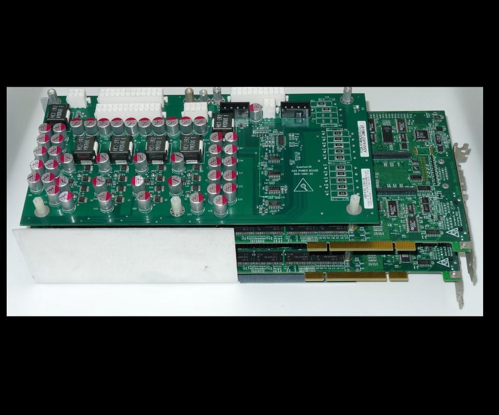 100% Probado obra perfecta para Quantum3D AAlchemy 8164 X2
