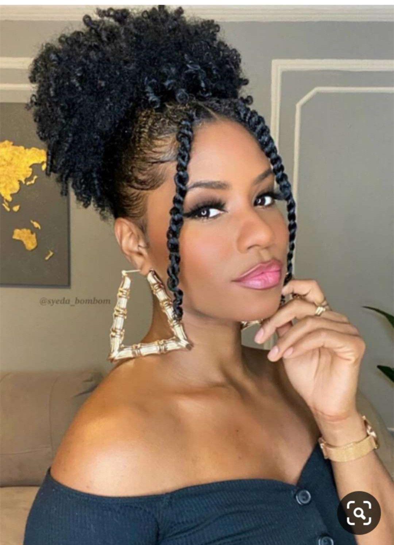 Nuovo EasyQuick Ponytail Ban Bun Acconciatura High Puff 10a Brasiliano Afro Kinky Clip riccio Prolunga Girl Updo Human Hair 120g