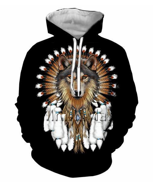Mens Designer Hoodies für Frauen Männer Paare Sweatshirt Lovers 3D Wolf Hoodies Coats Hoodies Tees Kleidung R150