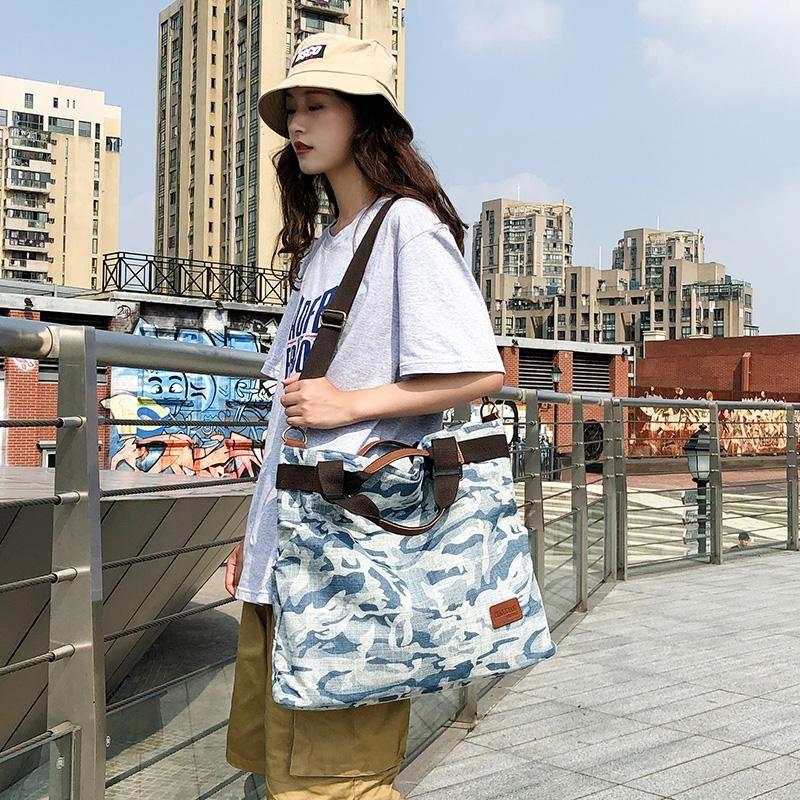 Dame Fshion Messenger Tote Tote Designer-2019 Handbags Handbags Sac à main en toile Sac à main Grand Designer Zones géographiques Grand sac Manjianghong / 7 DDFHS