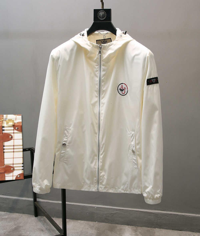 Neues Muster Freizeit ursprünglicher männlicher Mittellang Schlank loser Anzug Frühjahr und Herbst Mantel-Qualitäts-Jacke 072218