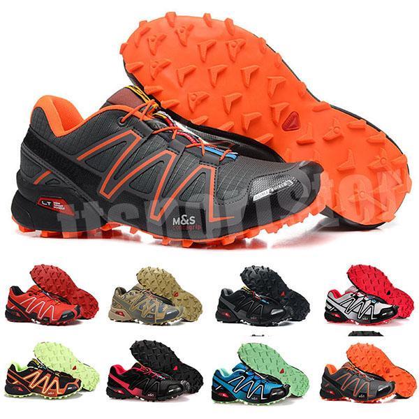 2020 мужская Speedcross 3 Trail лучшее качество мужчины Красный открытый кроссовки бег трусцой спортивные кроссовки для прогулок на открытом воздухе 29 цветов TK9821