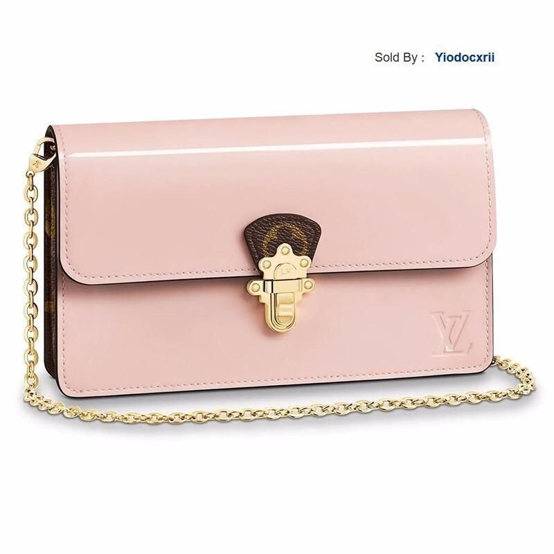 yiodocxrii EF32 Handbags Cherrywood Chain Wallet Canvas Calfskin Shoulder Messenger Bag M63306 Totes Handbags Shoulder Bags Backpacks